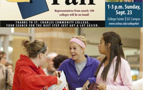 Plan to attend the St. Charles Regional College Fair
