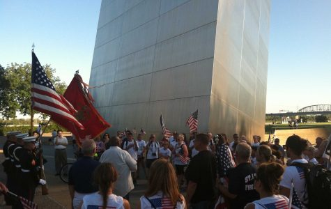Marching in honor of 9/11