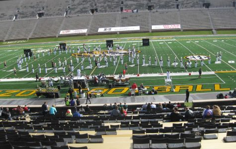 Marching Band Competes in Last Competition