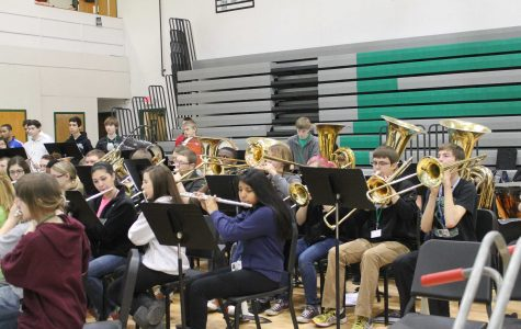 The Parade of Bands concert is March 21