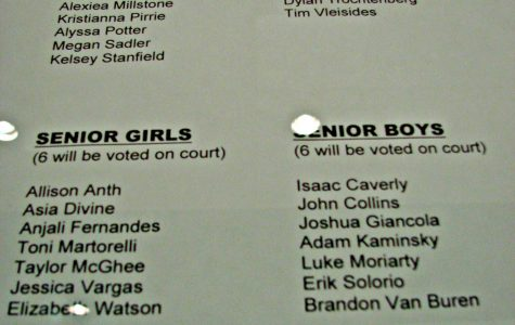 2013 Prom Court Nominations