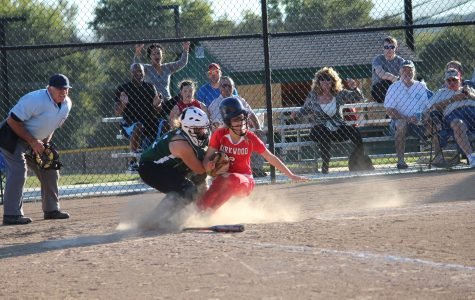 SLIDESHOW JV Softball vs Kirkwood, 10/8/13