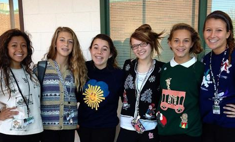 STORIFY: Day 3 – Crazy Sweater/Sock Day #phsSPIRIT