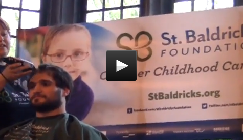 St. Baldrick's helps raise childhood cancer awareness