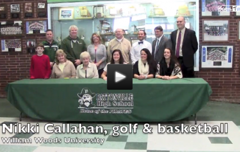 VIDEO Five student-athletes sign to play sports in college