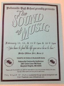 Julie Andrews would be proud of the high school's production of The Sound of Music
