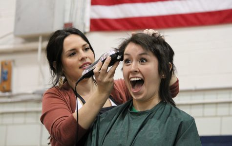 SLIDESHOW Students, staff participated in St. Baldrick's event on March 15