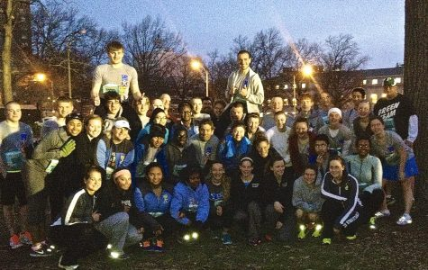 Students and staff run toward success in St. Louis GO! Half-Marathon
