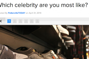 PLAYBUZZ Which celebrity are you most like?