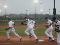 Pattonville varsity baseball played its season opener at BMAC. Pirate baseball has since played other games at the complex as well.