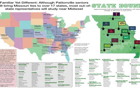 Senior destinations: PHS Class of 2014 to take on new endeavors in fall