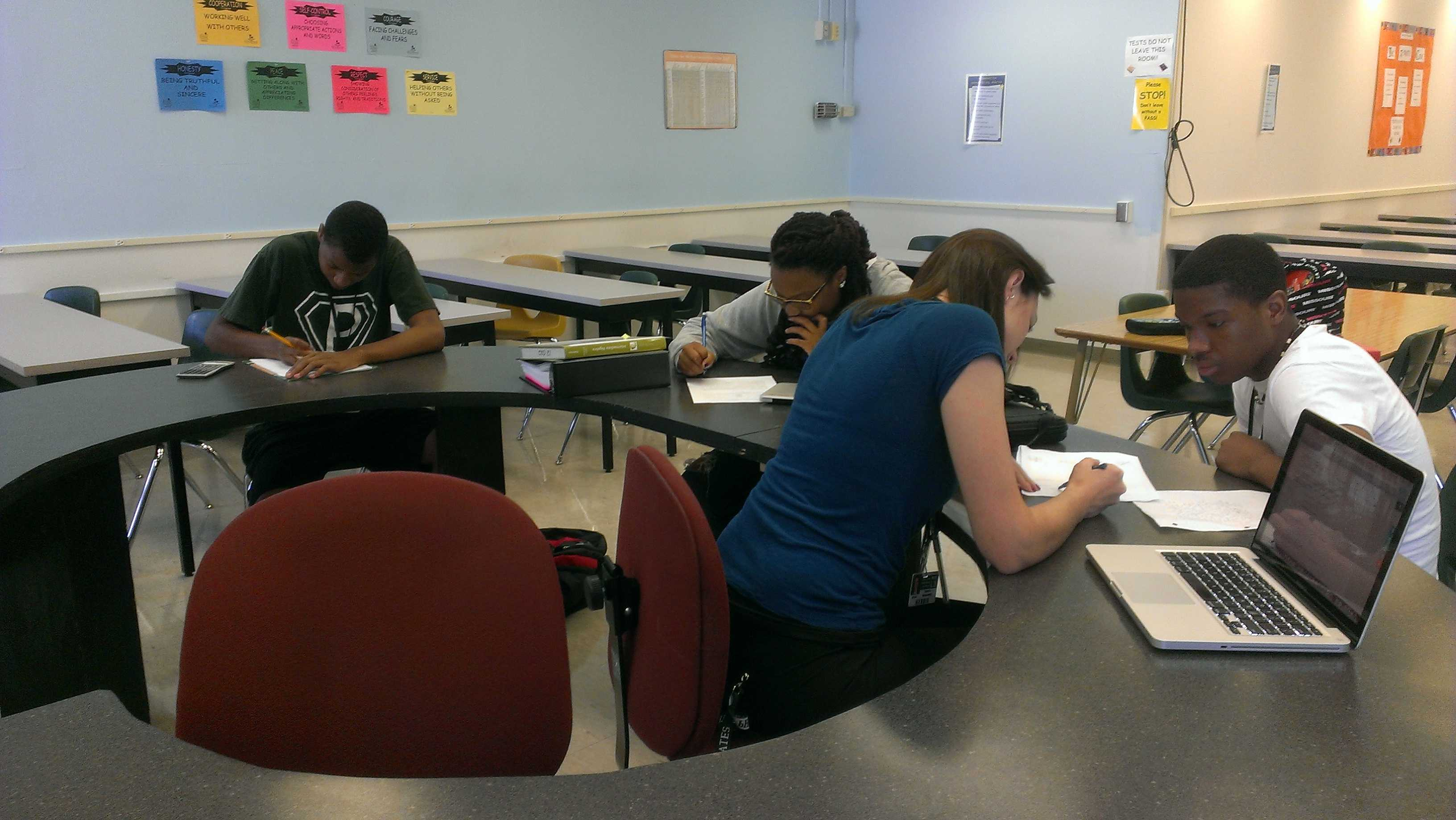 Math Help Center is great resource for extra help – PattonvilleTODAY