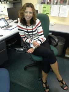Our Senior Counselor , Mrs. Thomas.