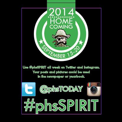 STORIFY #phsSPIRIT Week 2014 - Friday Class Color Day
