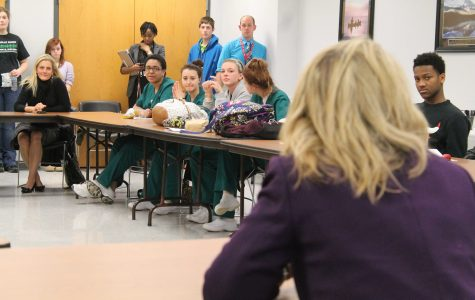 SLIDESHOW: Missouri Commissioner of Education visits Pattonville