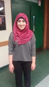 Rania Daoud (11) qualified in the Dramatic Interpretation division.