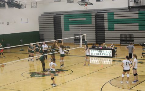 Girls' volleyball pass, set and hit into a new season