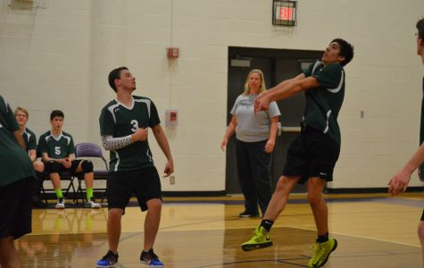 Middendorf coaches final games at boys' district volleyball tournament