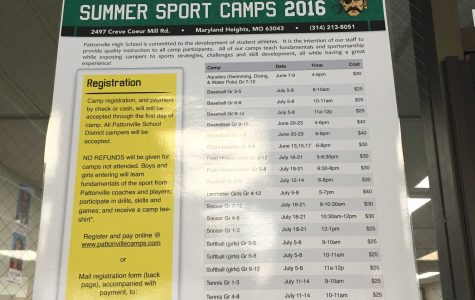 Pattonville summer sports camp registration now available
