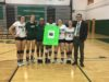 Volleyball seniors honored, begin District tournament