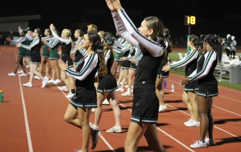 Varsity, JV cheerleaders compete at State on Nov. 5