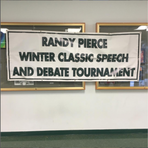 Pattonville Debate and Speech will host the Randy Pierce Winter Classic Speech and Debate Tournament on Dec. 9-10. The early release on Friday will allow competitions to begin immediately after school.