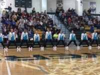 Drill team performed at Lindbergh to qualify for the National Competition