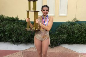 Byrne finds success with dancing after graduation