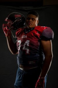 Marquis Hayes Jr. will play for the U.S. U-19 against Canada in the North American Championship on January 28.