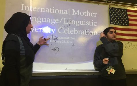 International Club celebrates Linguistic Diversity