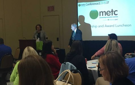 Educators learn about virtual learning environment during #METC17 luncheon