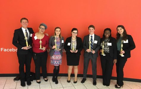 DECA members have success at districts, prepare for state