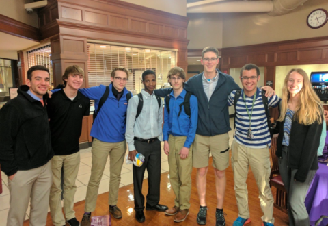 Pattonville students win Griffin Hackathon