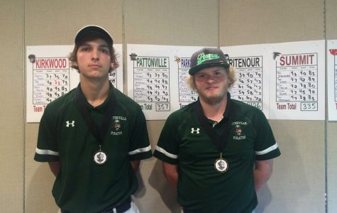 Hogan, Hulahan named to All-Conference teams for boys' golf