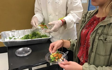 Students learn about Spanish culture with food