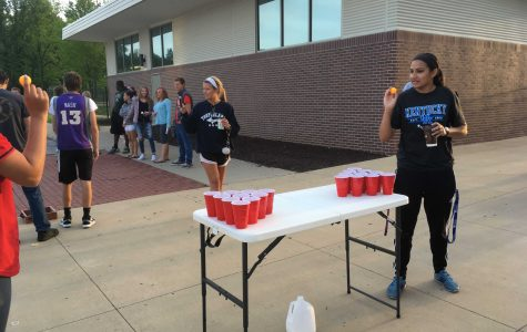 Seniors host tailgate, look forward to end of year