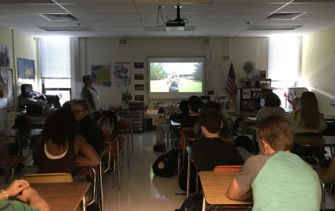 Chabot prepared her French 1 class for solar eclipse by showing a video on safety