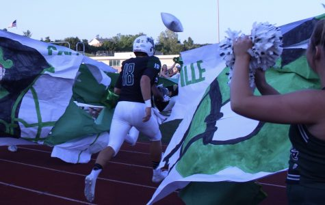 SLIDESHOW Varsity football wins first home game of the season