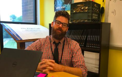 Meet new student teacher: Mr. Adam McDaniel