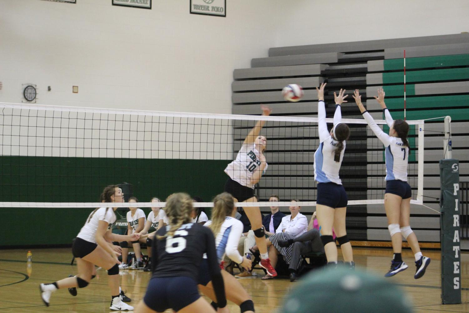 Girls volleyball wrapping up season and looking toward Districts