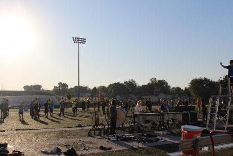 Seventeen Pattonville band entries receive top rating at Districts