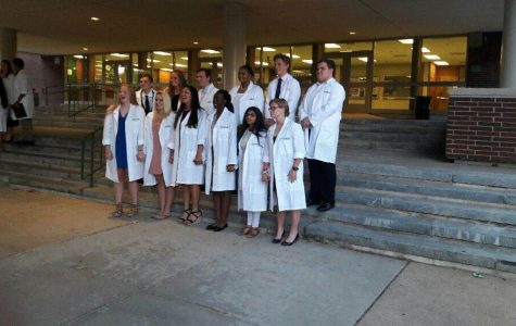 Biomedical program holds White Coat Ceremony to honor students
