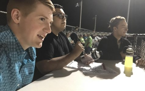 Students live stream football games