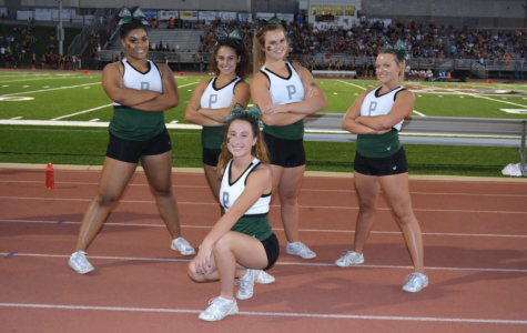 Cheerleaders will have Senior Night on Oct. 6 at the football game