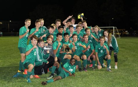 Soccer wins back-to-back District championships