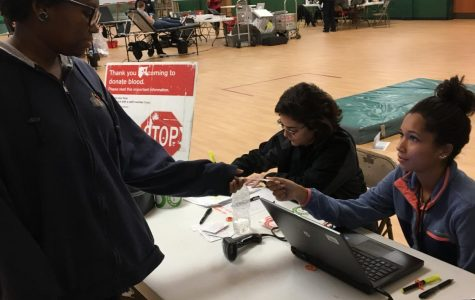 NHS holds Red Cross blood drive