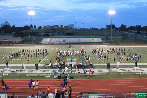 VIDEO Marching Band comes in 3rd in its first competition of the year