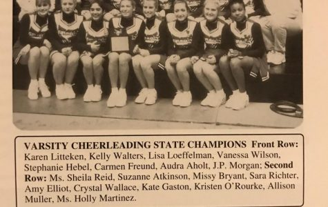 Cheerleading team won 1997 state championship