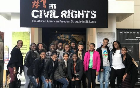 Students visit History Museum to look at exhibit for inspiration