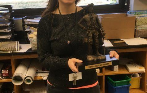 Corrado wins Pirate Code Teacher of the Week